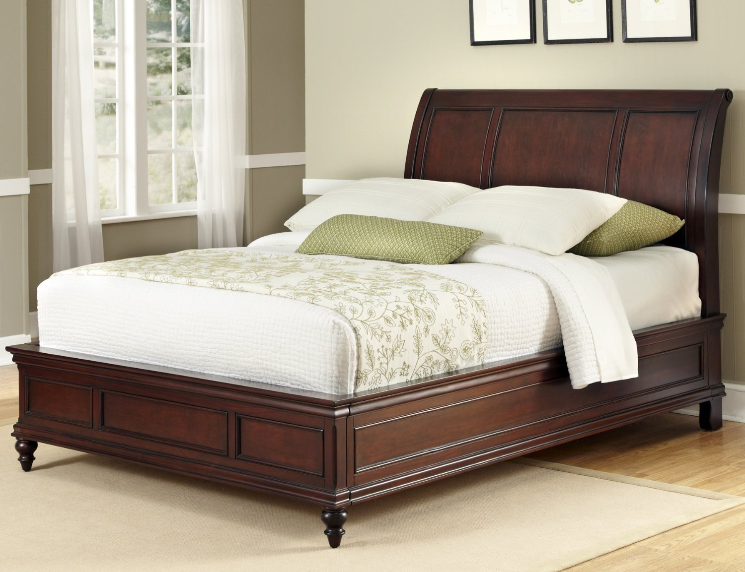 Beautiful Feng Shui Bed With Solid Headboard Support Click To Preview