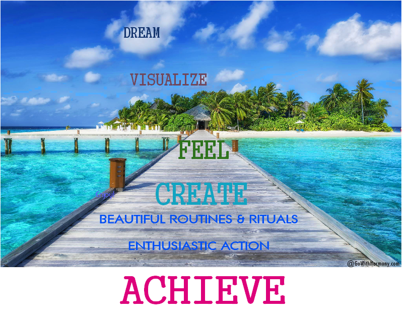 Dream, Visualize, Feel, Create Amazing Routines and Rituals and Achieve