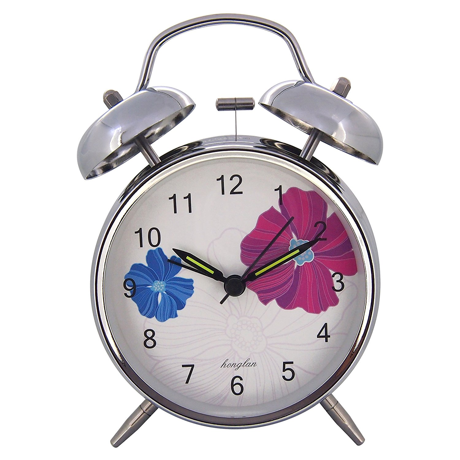 Non Ticking Beautiful Alarm Clock ~ Will Wake Up Heavy Sleepers