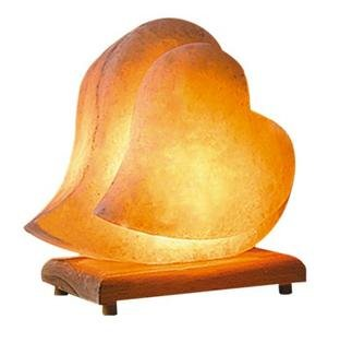 Romantic Double Heart Lamp - Click Here For Beautiful Feng Shui Love and Bedroom Decor