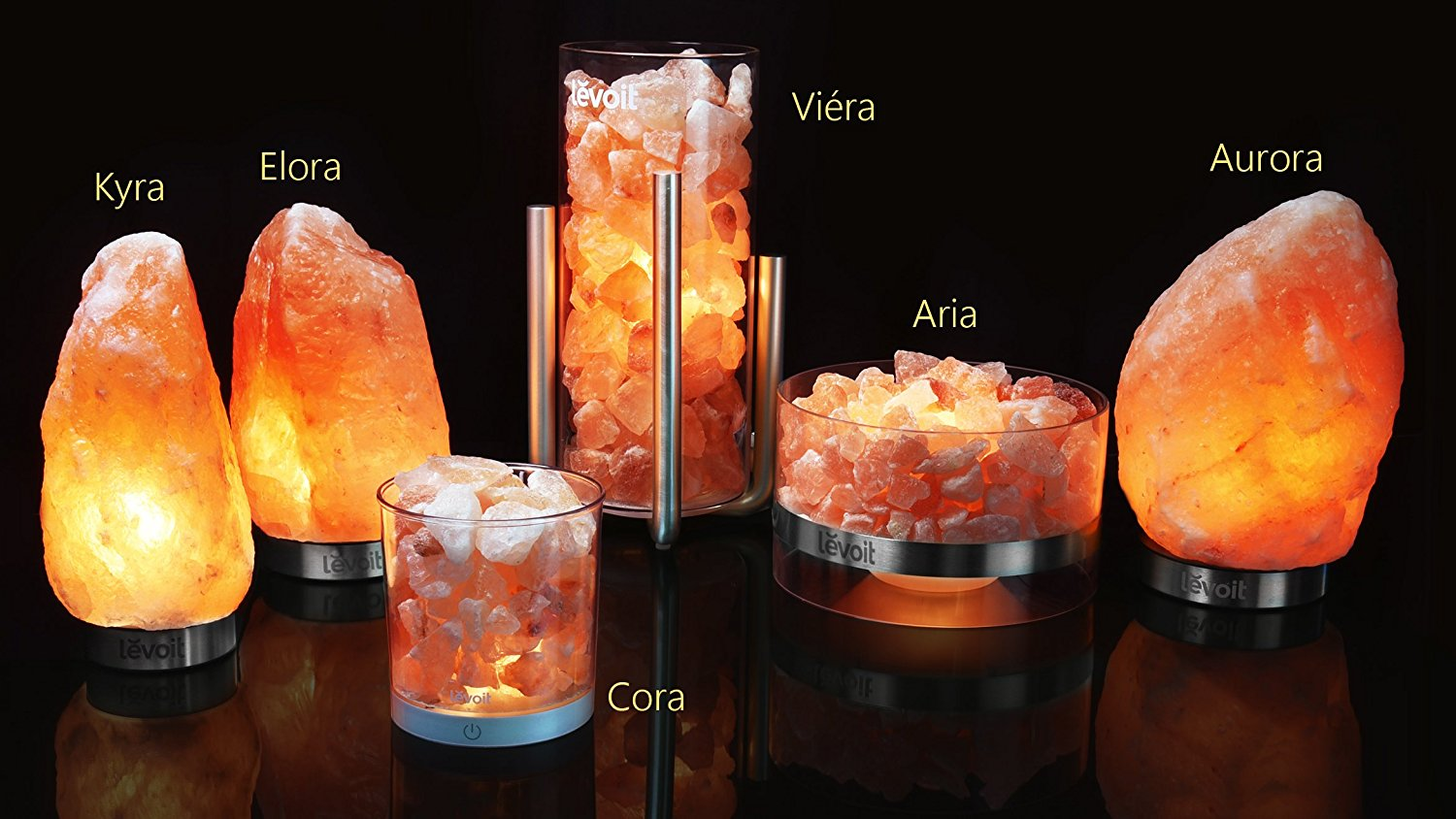 Feng Shui Decor With Beautiful Himalayan Salt Lamp That Brings Instant Serenity, Calmness and Air Purification... Ahhh