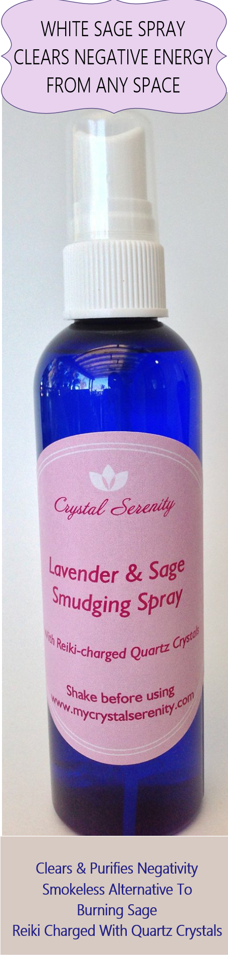 Powerful Way To Clear Negative Energy from Body and Spaces.  Clears and Purifies Negativity.  Smokeless Alternative To Burning Sage