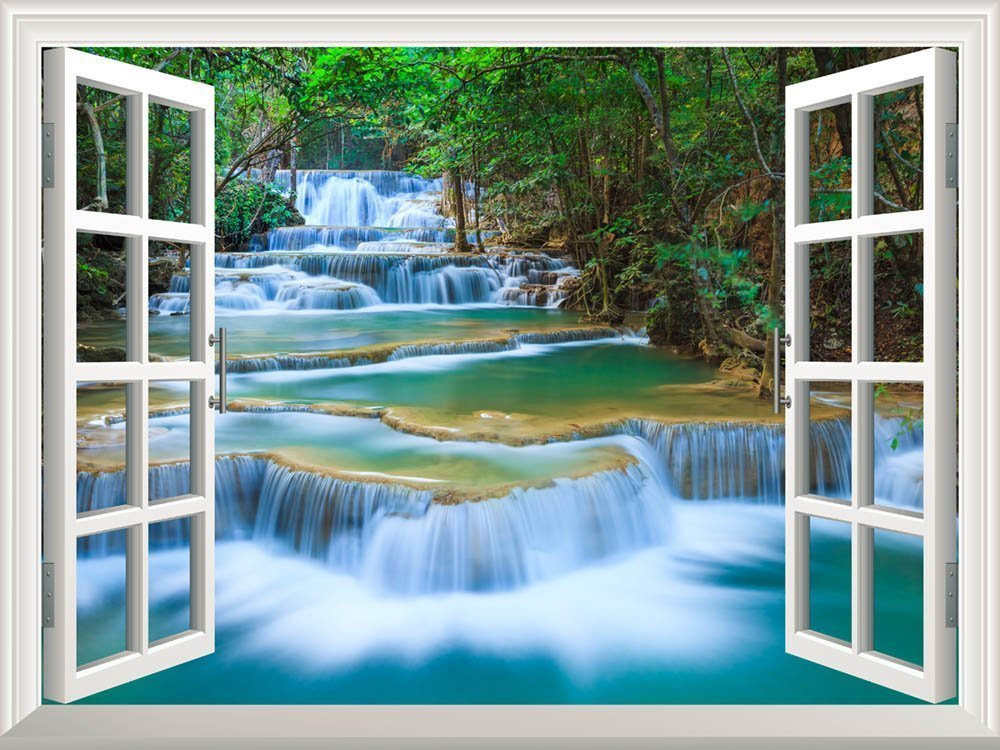 Feng Shui Wealth Enhancement as Easy To Apply Wall Mural